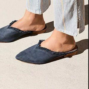 Free People Newport Flats Mules Size 10 NEW